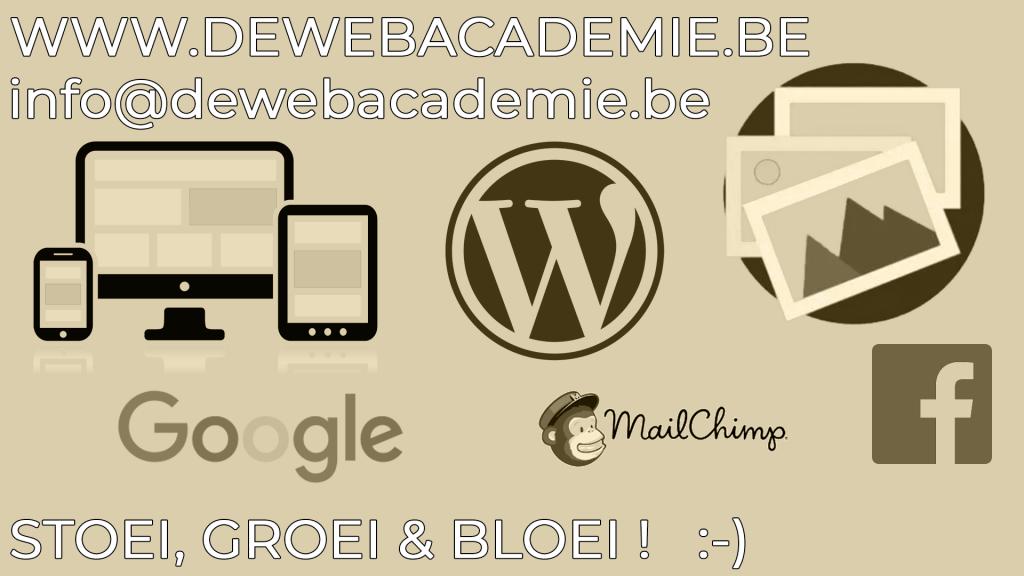 modules bij dewebacademie.be